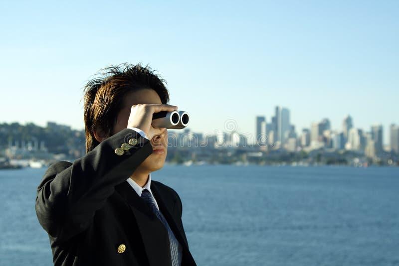 Bedrijfs visie royalty-vrije stock foto