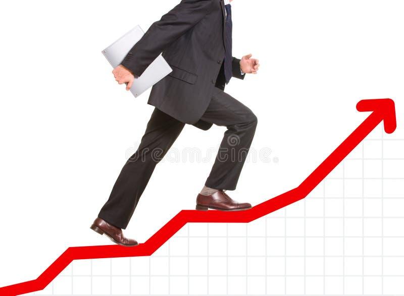 Bedrijfs vooruitgang royalty-vrije stock afbeelding