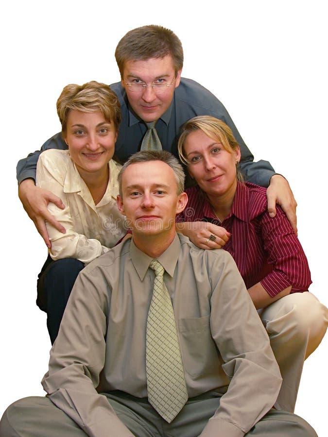 Bedrijfs vriendschap royalty-vrije stock afbeelding