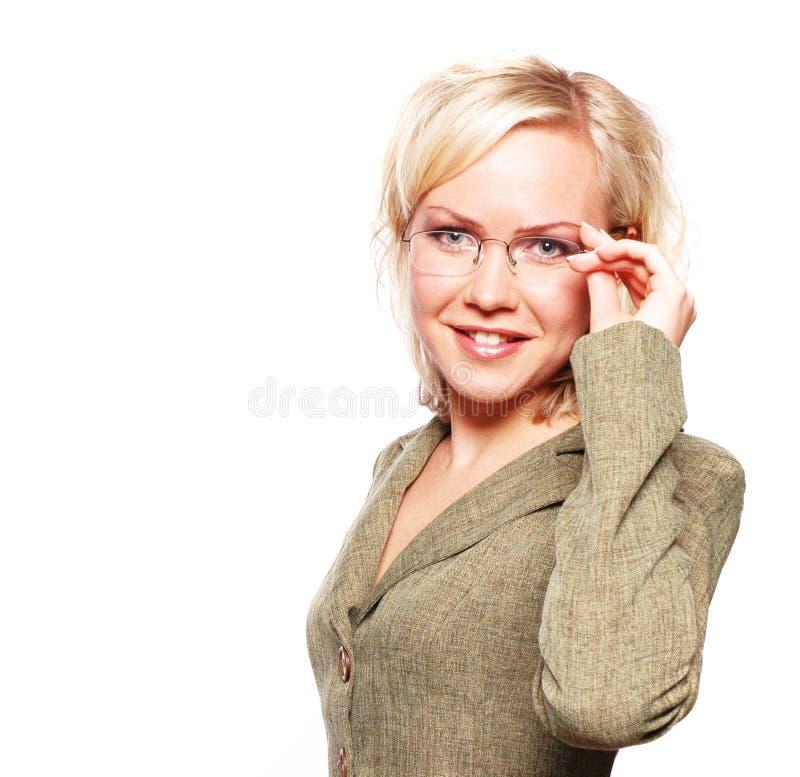 Bedrijfs vrouw royalty-vrije stock afbeeldingen