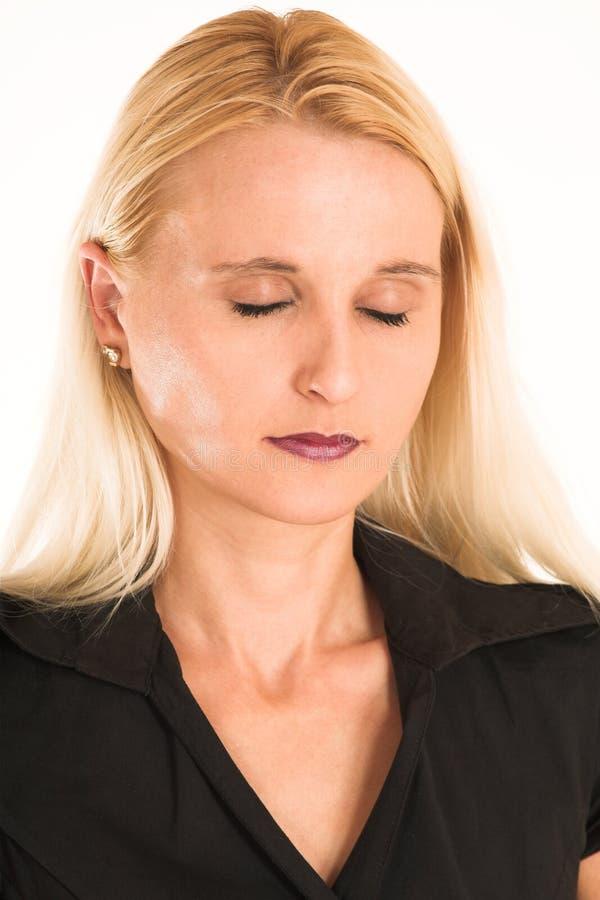 Bedrijfs Vrouw #375 royalty-vrije stock afbeelding