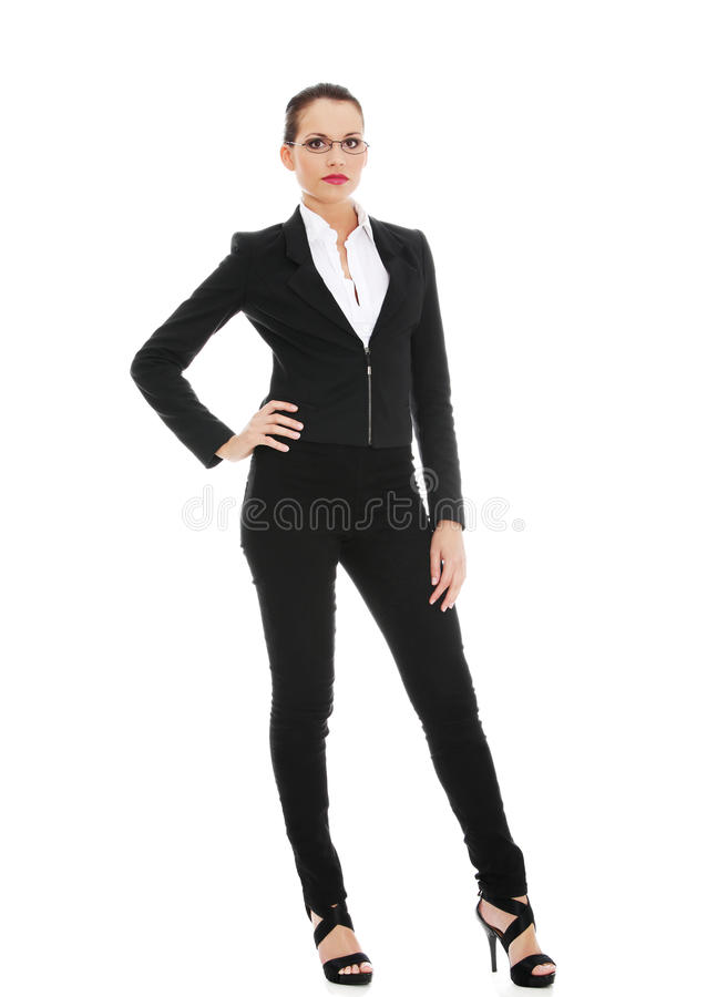 Bedrijfs vrouw - 2 royalty-vrije stock afbeeldingen