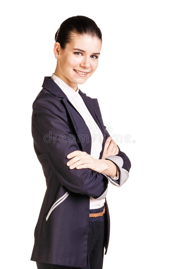 Bedrijfs vrouw - 2 royalty-vrije stock foto