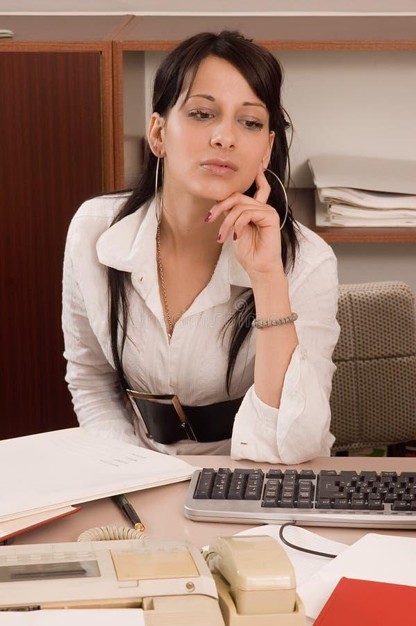 Bedrijfs vrouwen op kantoor stock afbeelding
