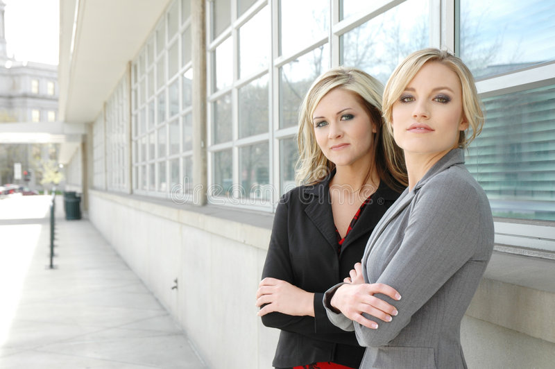 Bedrijfs vrouwenteam stock foto
