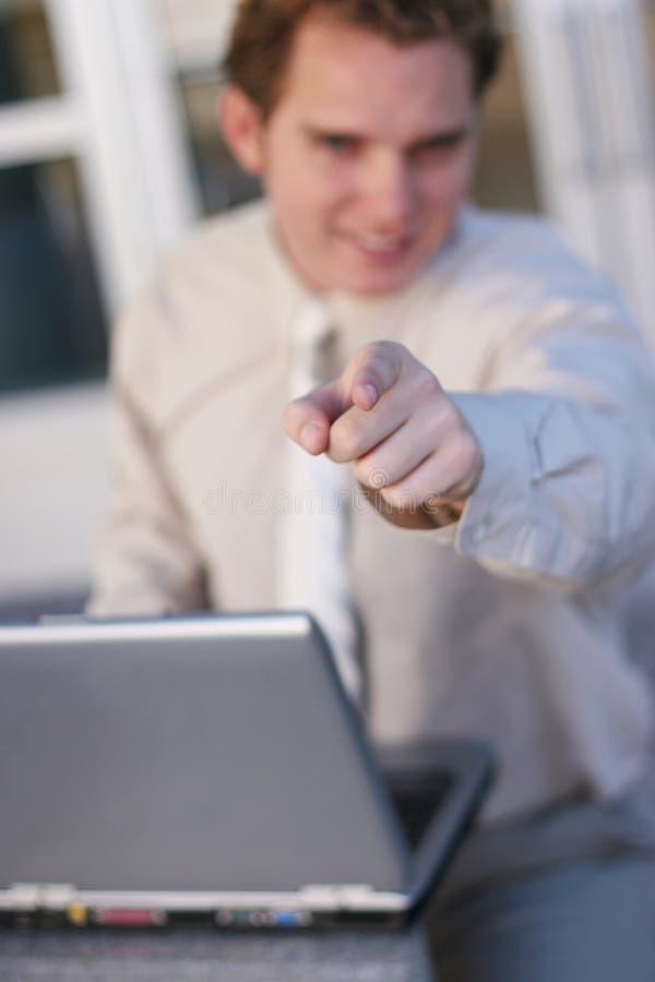 Bedrijfs werkgever royalty-vrije stock foto