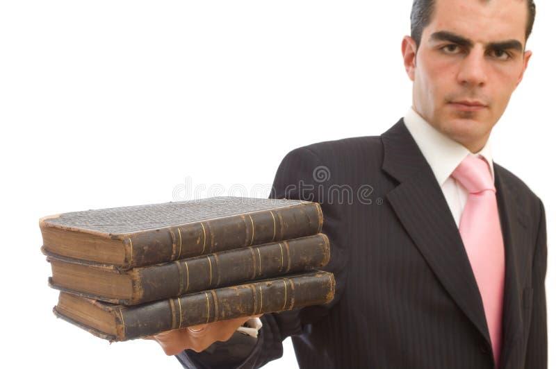 Bedrijfs wetten royalty-vrije stock foto