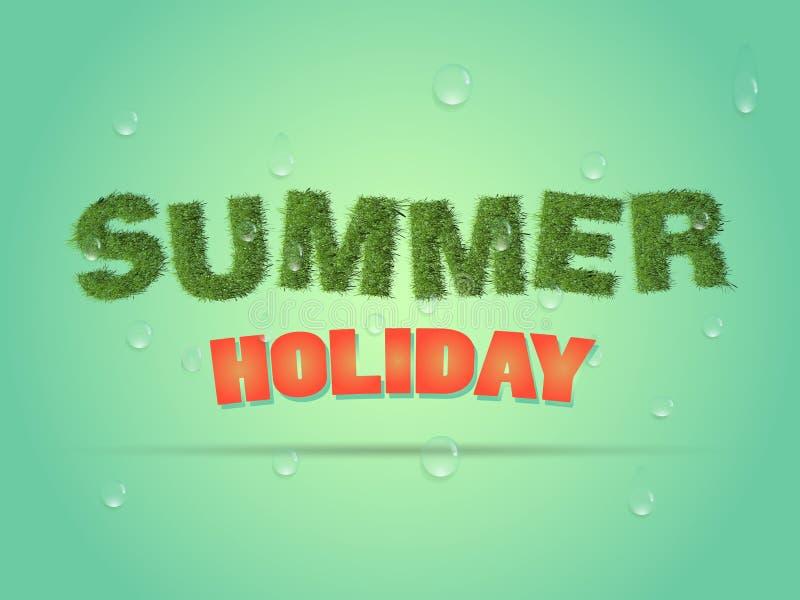 Download Bedrijfsaffiche Voor Vakantie Stock Illustratie - Illustratie bestaande uit decoratie, mooi: 54086569
