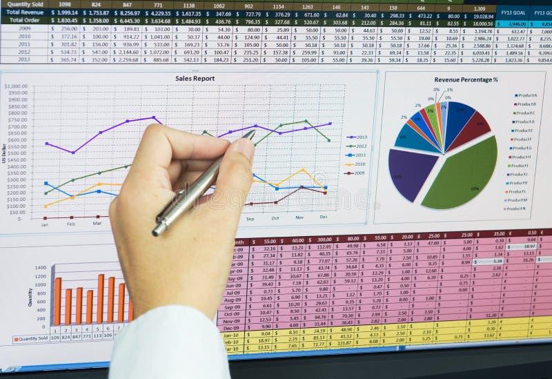 Bedrijfsanalyse royalty-vrije stock afbeelding