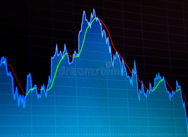 Bedrijfsanalysediagram Financiën achtergrondgegevensgrafiek royalty-vrije stock afbeelding
