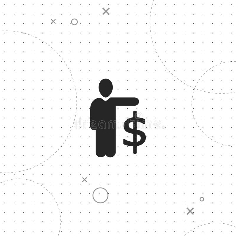 Bedrijfscarrière, vector beste vlak pictogram vector illustratie