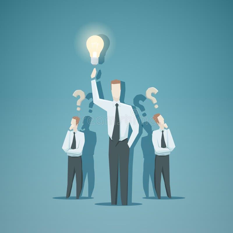 Bedrijfsconcept - Idee royalty-vrije illustratie