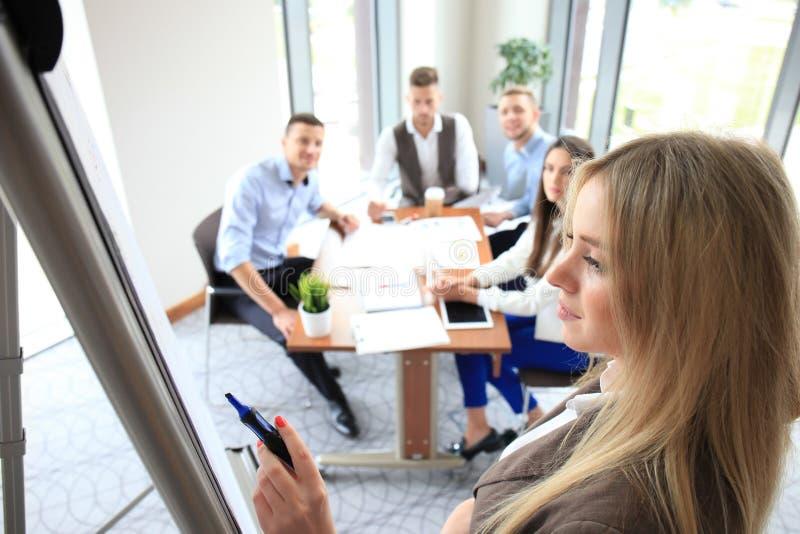 Bedrijfsconferentiepresentatie stock afbeelding