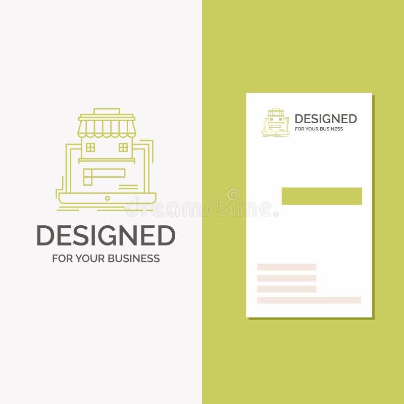 Bedrijfsembleem voor zaken, markt, organisatie, gegevens, online markt r stock illustratie