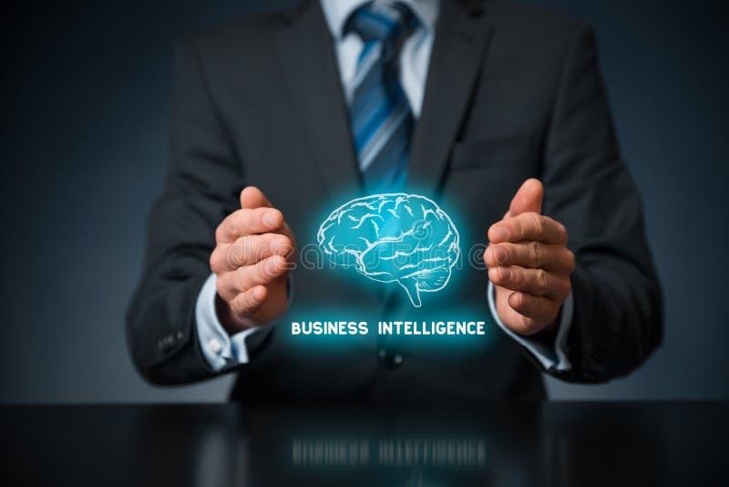 Bedrijfsintelligentie royalty-vrije stock afbeelding
