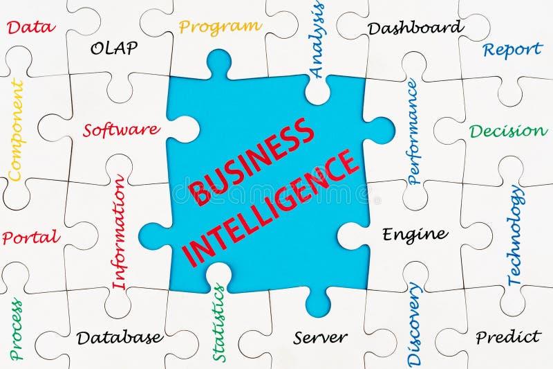 Bedrijfsintelligentieconcept royalty-vrije stock afbeelding