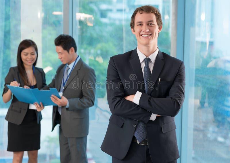 Bedrijfsleider royalty-vrije stock afbeelding