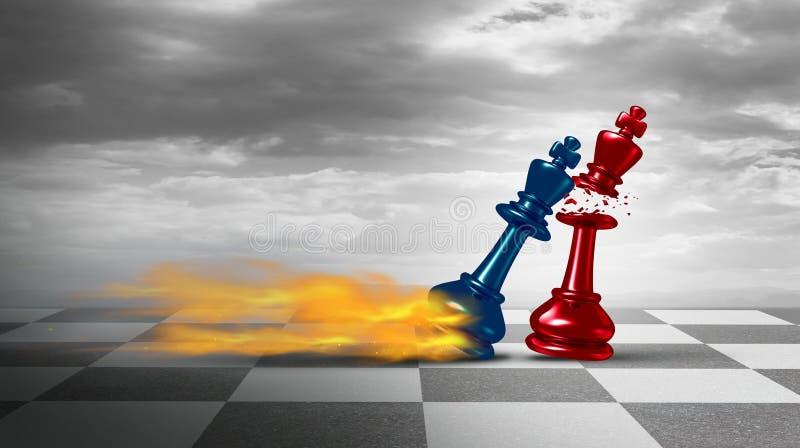 Bedrijfsleidingsstrategie royalty-vrije illustratie