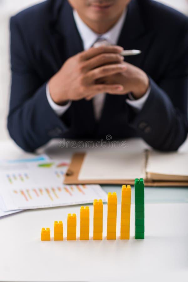 Bedrijfsontwikkelingsconcept stock afbeelding