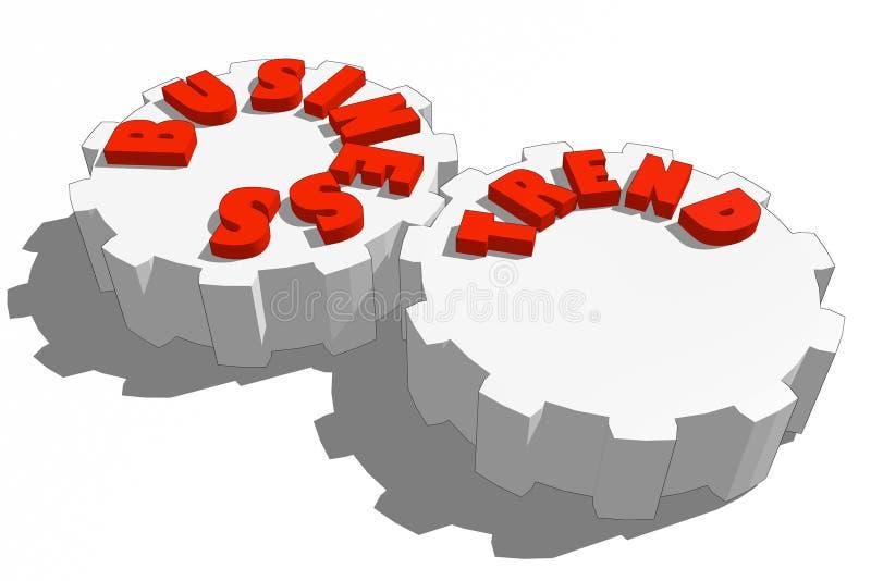 Bedrijfspictogrammen vector illustratie