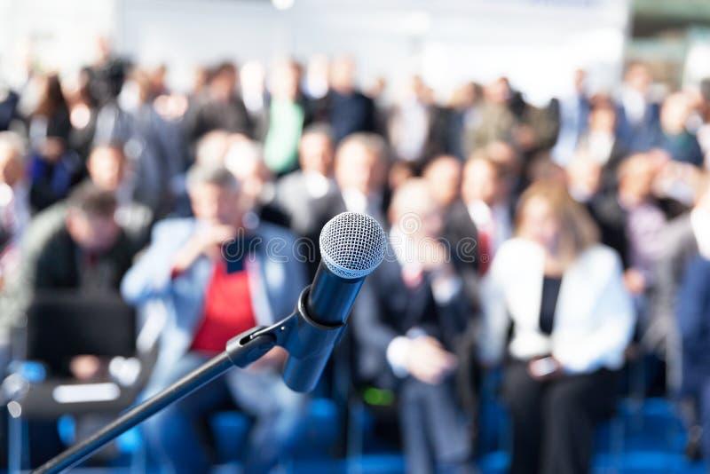 Bedrijfspresentatie of collectieve conferentie royalty-vrije stock afbeeldingen