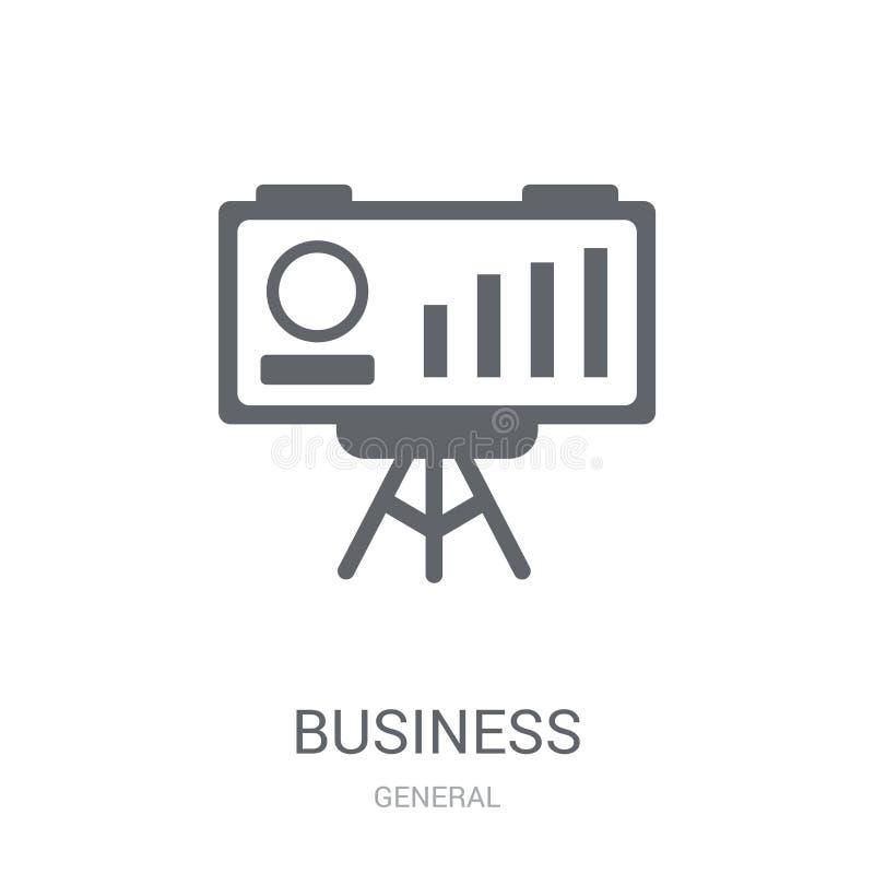 bedrijfsprestatiespictogram  stock illustratie