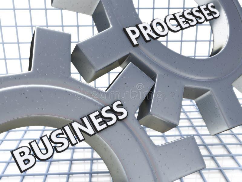 Bedrijfsprocessen op het Mechanisme van Metaaltoestellen stock foto's