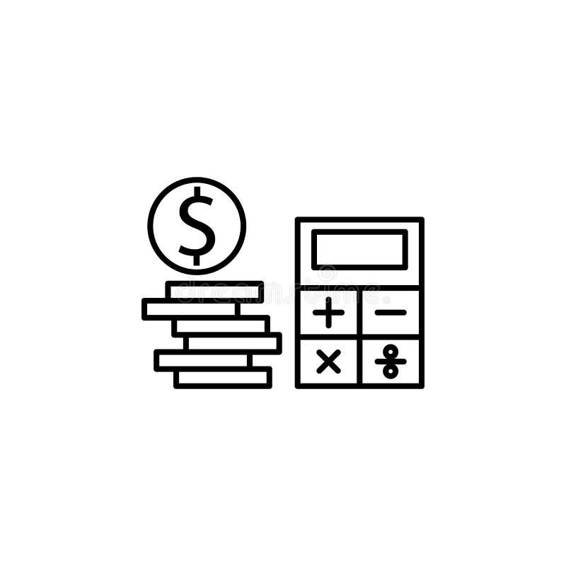 bedrijfsseo, het pictogram van de schuldlijn Groepswerk bij het idee De tekens en de symbolen kunnen voor Web, embleem, mobiele t royalty-vrije illustratie