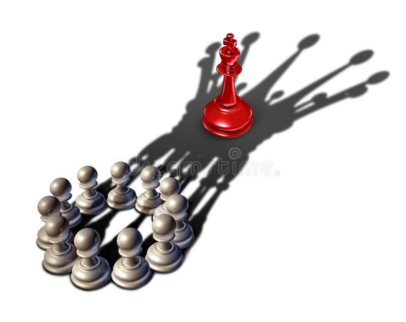 Bedrijfsstrategieleiding royalty-vrije illustratie