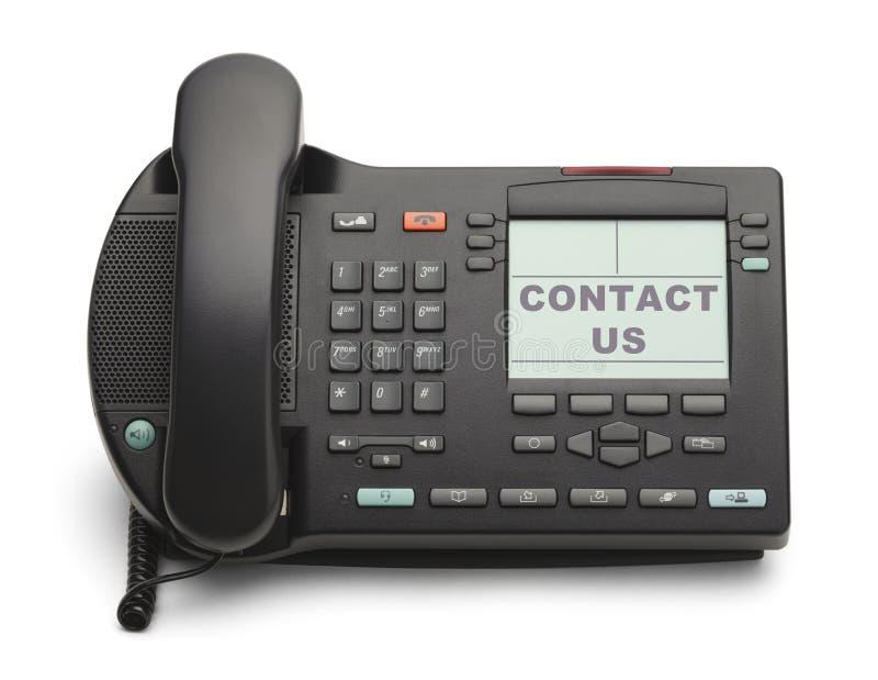 Bedrijfstelefoon royalty-vrije stock afbeelding