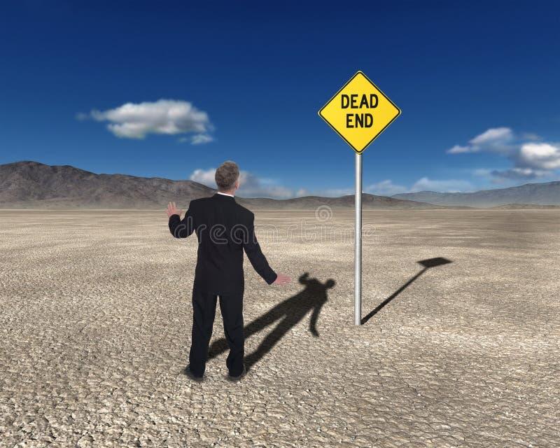 Bedrijfsverkooprisico Marketing Doelstellingen stock foto