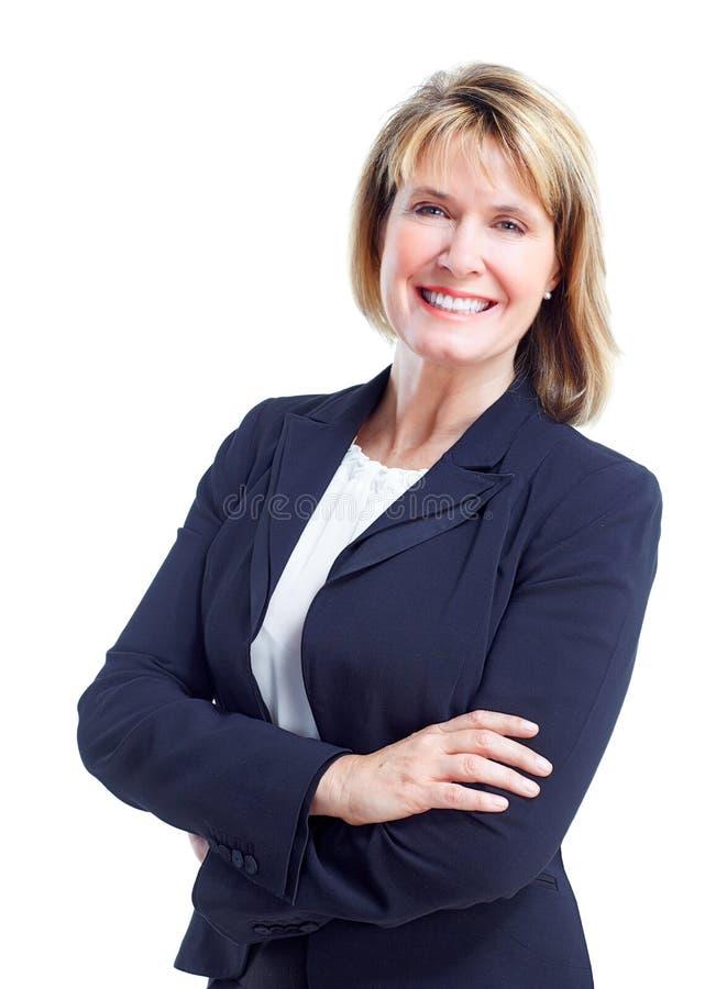 Bedrijfsvrouw stock afbeeldingen
