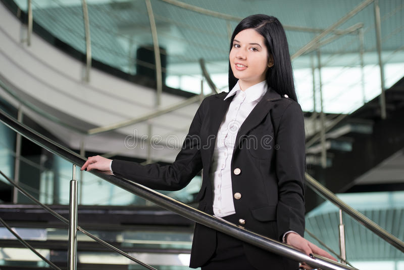 Bedrijfsvrouw royalty-vrije stock foto