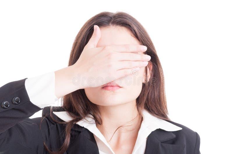 Bedrijfsvrouw, inspecteur, auditor of supervisorvrouw het behandelen royalty-vrije stock afbeeldingen