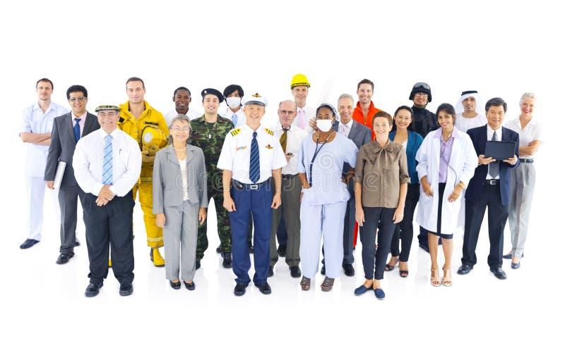 Bedrijfswerkgelegenheid Collectief Job Concept stock afbeelding