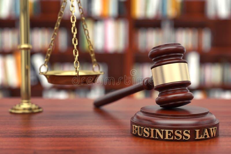Bedrijfswet stock afbeelding