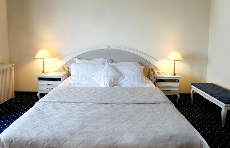 Download Bedroom stock photo. Image of gorgeous, cushion, comfort - 18851748