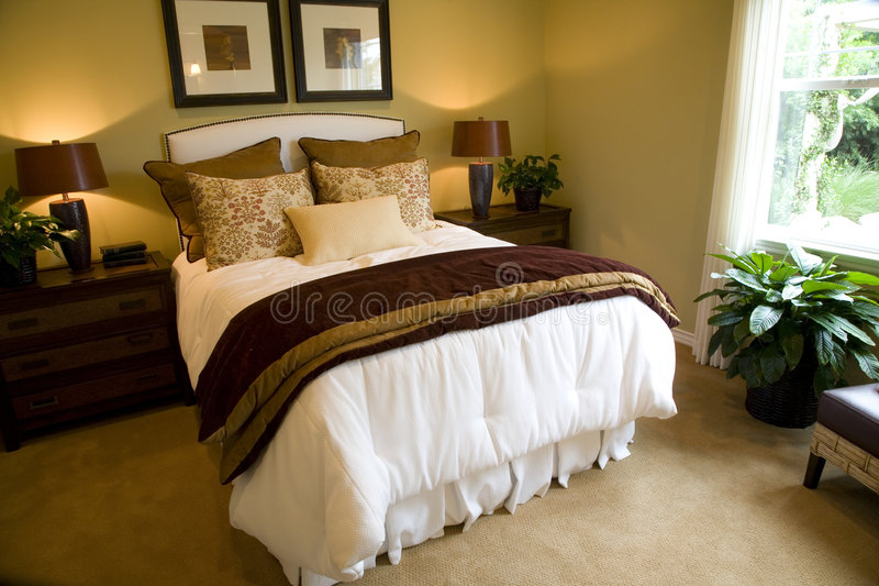 Bedroom 2374 royalty free stock photography