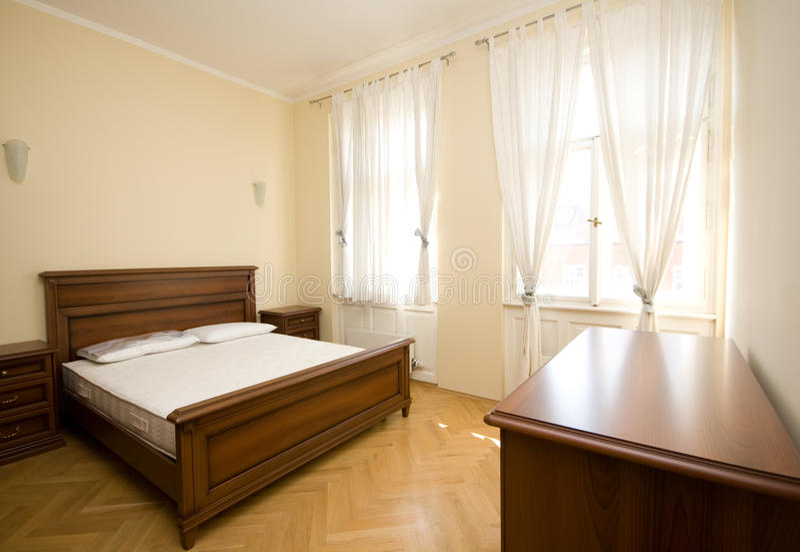 Download Bedroom stock image. Image of home, lamp, window, furniture - 23924677