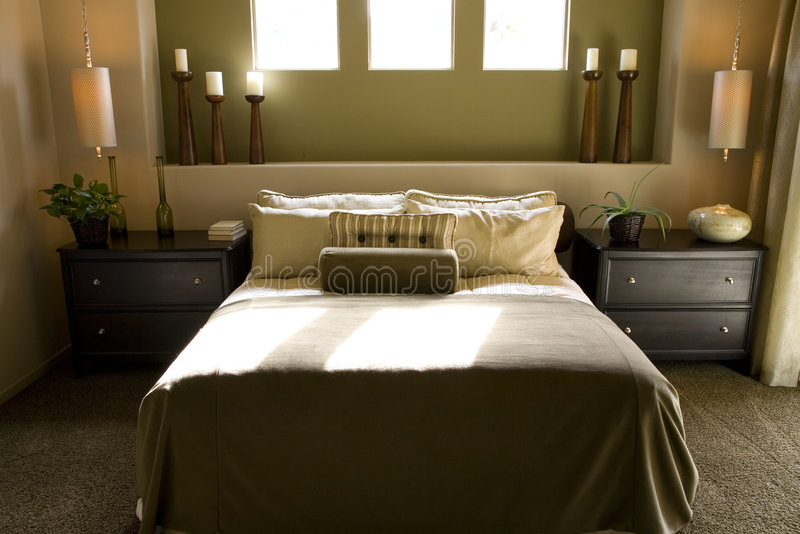 Bedroom 2680 stock photo