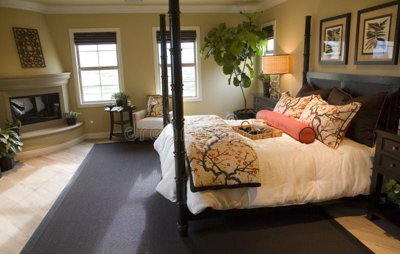 Bedroom 2701 royalty free stock photo