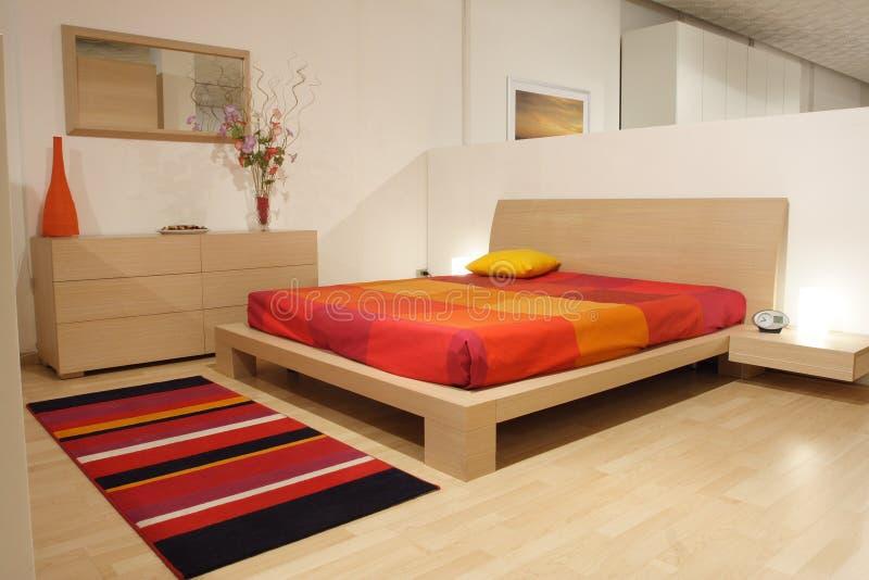 Bedroom. Furniture in rovere chiaro