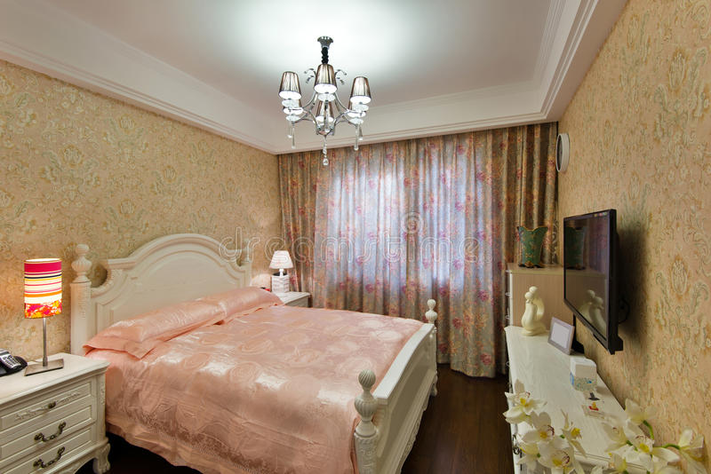 Download Bedroom stock image. Image of indoors, comfy, architecture - 28954141