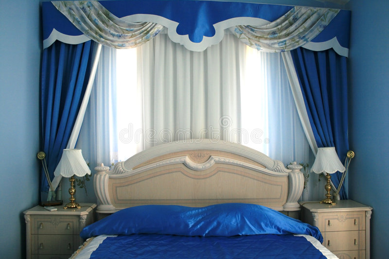 Download Bedroom stock photo. Image of classical, details, decoration - 3176228