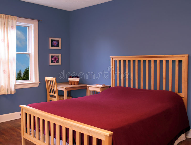 Bedroom stock photos