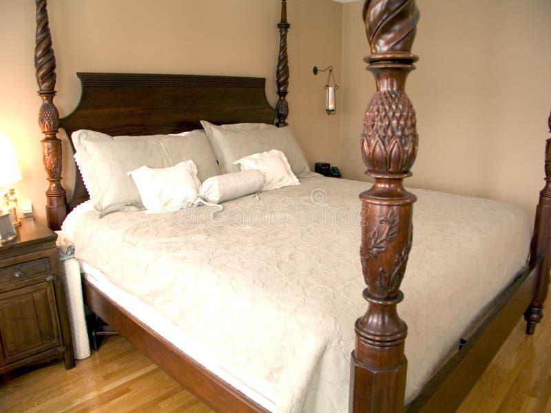 Download Bedroom 39 stock image. Image of mahogany, illumination - 165409