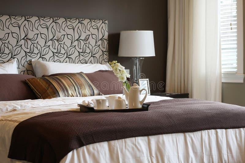 Download Bedroom stock image. Image of window, quilt, cushion, linen - 8620731