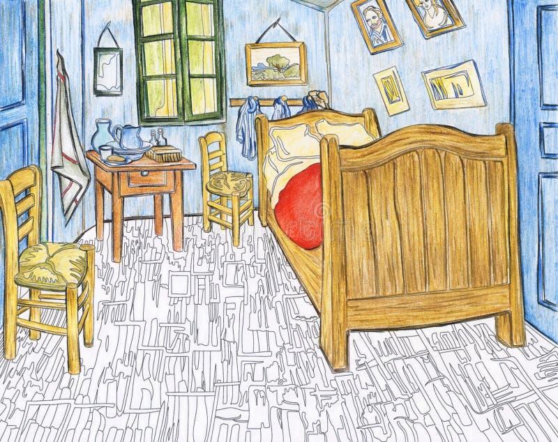Bedroom In Arles 1888 By Vincent Van Gogh Editorial Photo ...
