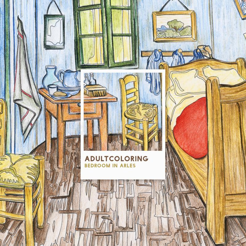 Bedroom In Arles 1888 By Vincent Van Gogh Adult Colouring Page Stock on the bedroom van gogh, the church at auvers, yellow house, sunday afternoon on the island of la grande jatte, water lilies, vincent van gogh, bedroom van gogh painting oil, room at arles van gogh, van gogh museum, starry night over the rhone, olive trees, bedroom vincent van gogh ppt, room in arles van gogh, wheat field with crows, sesame street bedroom van gogh, wheat fields, cafe terrace at night, bedroom in arles 1889, portrait of dr. gachet, the starry night, self-portraits by vincent van gogh, the potato eaters, church at arles van gogh, bedroom at arles by van gogh, bedroom in arles high resolution,