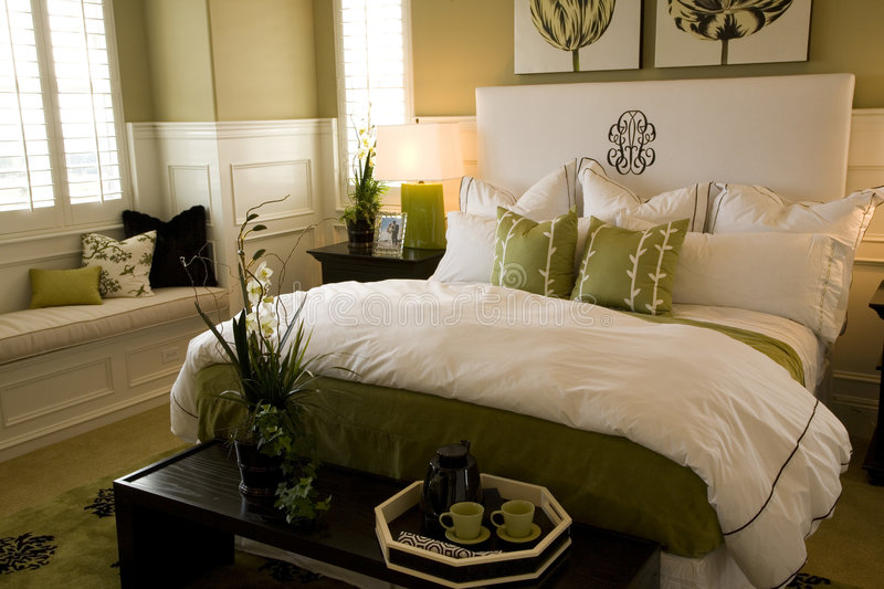 Bedroom closeup 1703 royalty free stock images